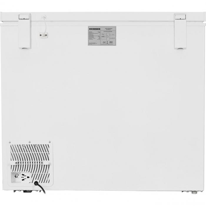 Lada frigorifica Heinner HCF-M200EE++, 200 l, Clasa A++, Display LED, Control electronic, Congelare rapida, Alb 2