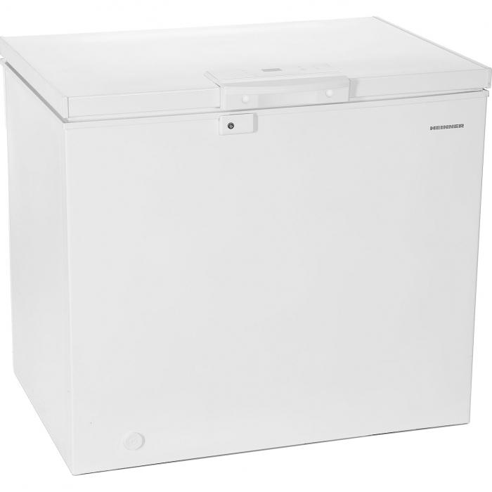 Lada frigorifica Heinner HCF-M200EE++, 200 l, Clasa A++, Display LED, Control electronic, Congelare rapida, Alb 0
