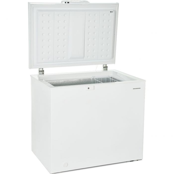 Lada frigorifica Heinner HCF-M200EE++, 200 l, Clasa A++, Display LED, Control electronic, Congelare rapida, Alb 1
