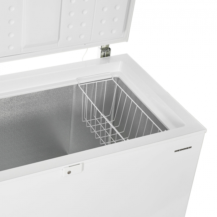 Lada frigorifica Heinner HCF-M200EA++, 200L, Winter Protection, Display LED pe maner, Clasa A++, 85cm, Alb 4