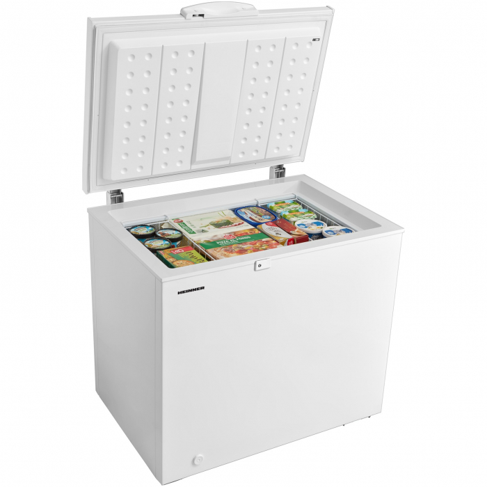 Lada frigorifica Heinner HCF-M250EA++, 250L, Display LED pe maner, Winter Protection, Clasa A++, 85cm, Alb 1