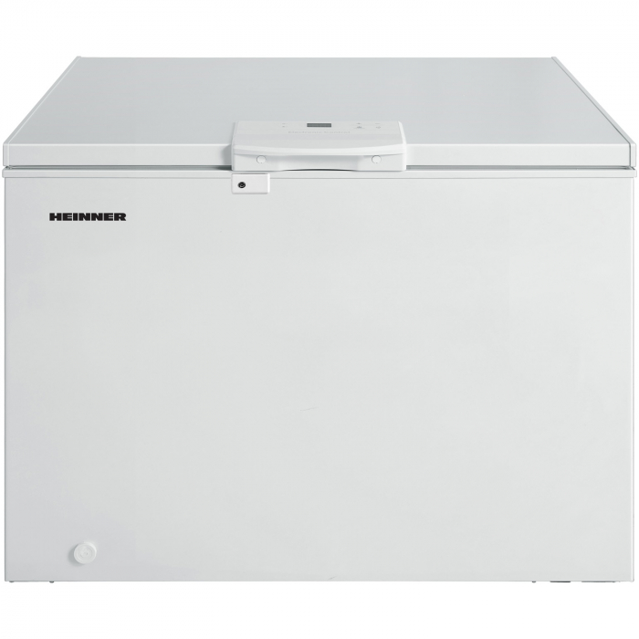 Lada frigorifica Heinner HCF-M250EE++, 250 l, Clasa A++, Display LED, Control elecronic, Congelare rapida, Alb [0]