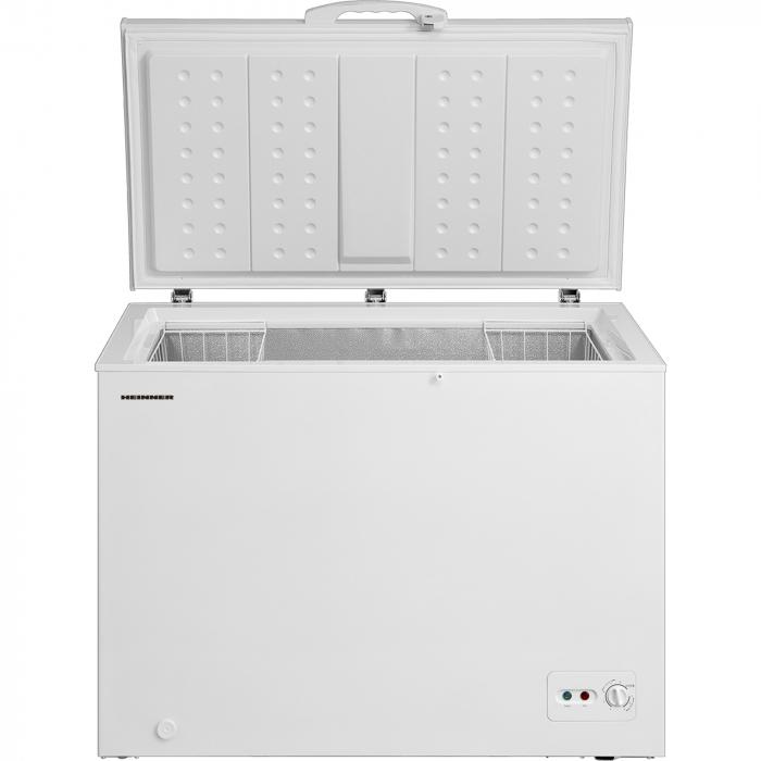 Lada frigorifica Heinner HCF-M295CF+, 290 l, Clasa A+, Functie Frigider, Control mecanic, Iluminare LED, Alb 1