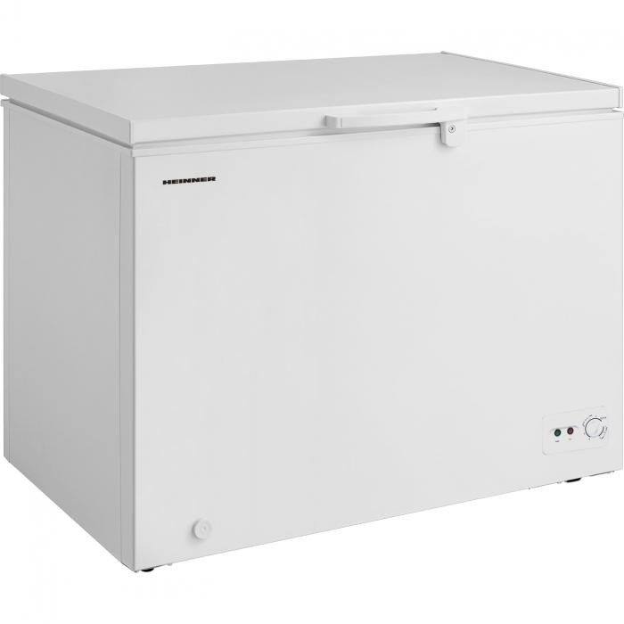 Lada frigorifica Heinner HCF-M295CF+, 290 l, Clasa A+, Functie Frigider, Control mecanic, Iluminare LED, Alb 0