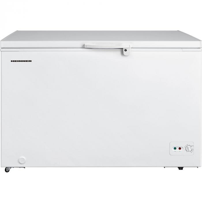 Lada frigorifica Heinner HCF-M362CA+, 359 l, Clasa A+, Sistem Convertibil Frigider/Congelator, Maner cu incuietoare, Alb 0