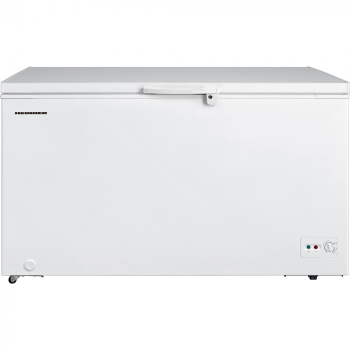 Lada frigorifica Heinner HCF-M418CA+, 418 l, Clasa A+, Sistem Convertibil Frigider/Congelator, Control mecanic, Winter Protection, Alb 0