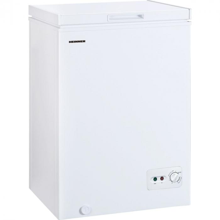 Lada frigorifica Heinner HCF-M99CF+,,99Litri, Clasa A+, Sistem Convertibil Frigider/Congelator, Control mecanic, Winter Protection, Alb [0]