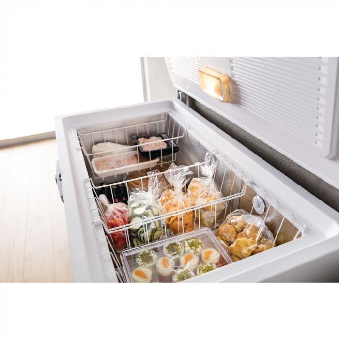 Lada frigorifica Whirlpool WHE31352 FO, 311 L, Frost Out, 6th Sense, Alb 2