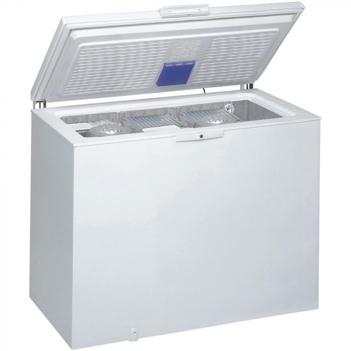 Lada frigorifica Whirlpool WHE31352 FO, 311 L, Frost Out, 6th Sense, Alb 1