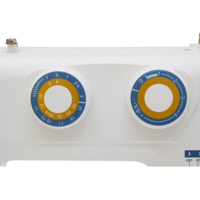 Masina De Cusut Electromecanica Minerva EXTRAPLUS, 22 Programe, 800 Imp/Min, 70W, Alb 5