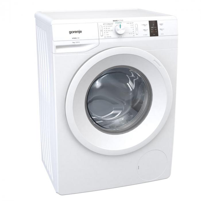 Masina de spalat GORENJE WP72S3, Clasa A+++, Capacitate 7kg, 1200rpm, Alb 1