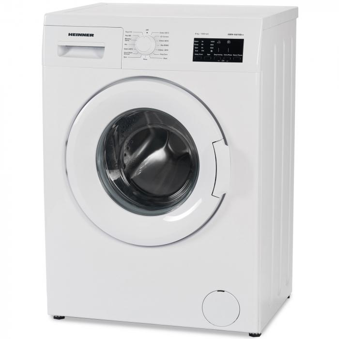 Masina de spalat Heinner HWM-V6010D++, 6 kg, 1000 RPM, Clasa A++, Display LED, 60 cm, Alb 1