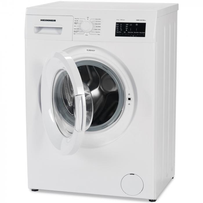 Masina de spalat Heinner HWM-V6010D++, 6 kg, 1000 RPM, Clasa A++, Display LED, 60 cm, Alb 2