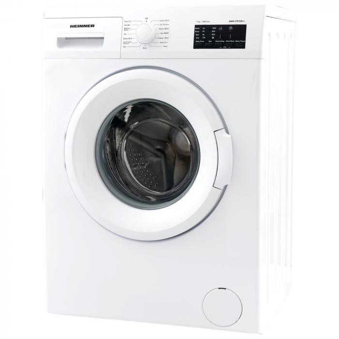 Masina de spalat Heinner HWM-V7010D++, 7 kg, 1000 RPM, Clasa A++, Display LED, 60 cm, Alb 1