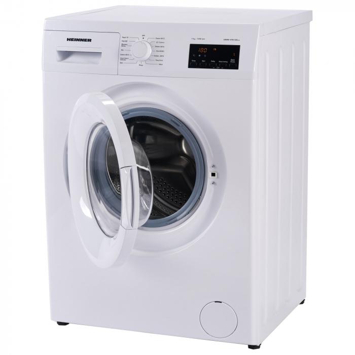 Masina de spalat Heinner HWM-V7012D++, 7 kg, 1200 RPM, Clasa D, Display LED, Alb 2