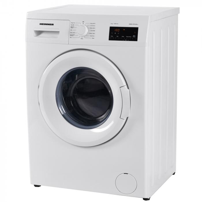 Masina de spalat Heinner HWM-V7012D++, 7 kg, 1200 RPM, Clasa D, Display LED, Alb 3