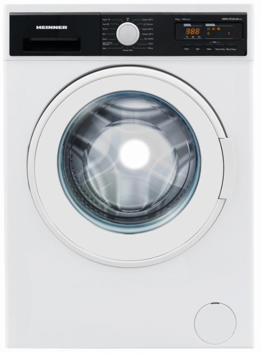 Masina de spalat Heinner HWM-VF4814D+++, 8 kg, 1400 RPM, Clasa D, Sistem Eco Logic, Alb [0]