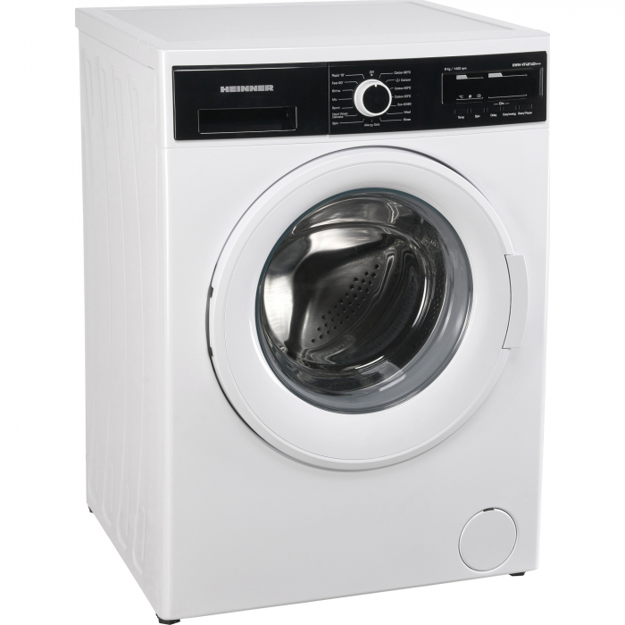 Masina de spalat Heinner HWM-VF4814D+++, 8 kg, 1400 RPM, Clasa D, Sistem Eco Logic, Alb [2]