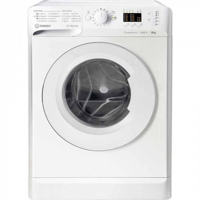 Masina de spalat Indesit MTWA 81283 W EE 8 KG, A +++ 0