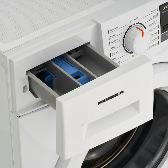 Masina de spalat rufe Heinner HWM-M7014A+++, 7 kg, 1400 RPM, Clasa A+++, Display LCD, Alb [5]