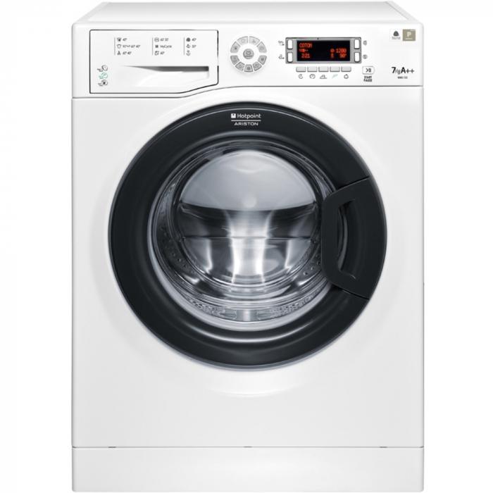 Masina de spalat rufe Hotpoint WMD 722B, 1200 RPM, 7 kg, Clasa A++, Display LCD, Alb 0