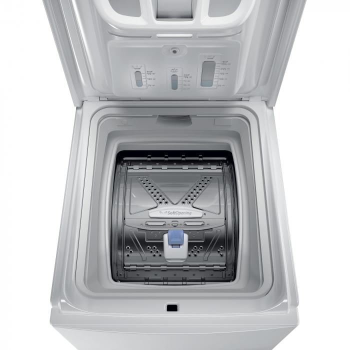 Masina de spalat rufe independenta cu incarcare verticala Whirlpool: 7,0kg - TDLR 7220SS EU/N [6]