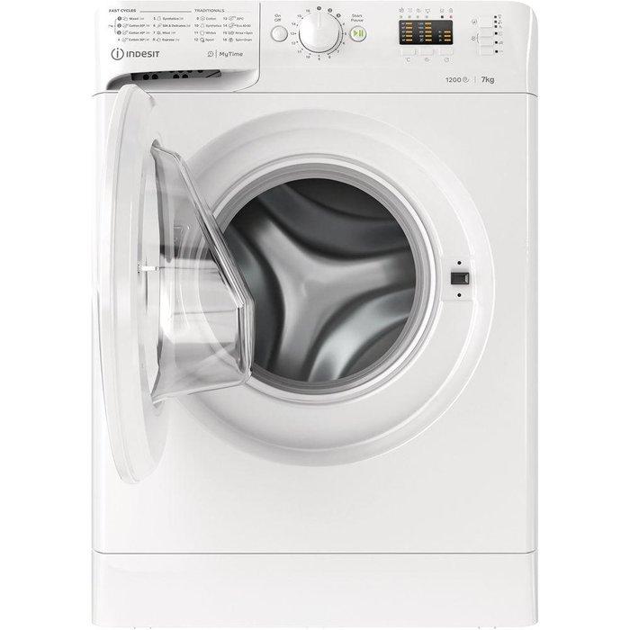 Masina de spalat rufe Indesit MTWA 71252 W EE, incarcare frontala, A +++ 1