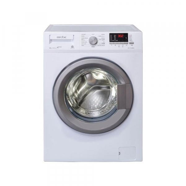 Masina de spalat rufe Slim Arctic APL81222XLW3, 8 kg, 1200 RPM, Clasa A+++, Display LED, Usa XL, Alb 0