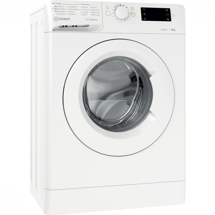 Masina de spalat rufe Slim Indesit MTWSE61252WEE, 6kg, 1200 RPM, Clasa A+++, MyTime, Fast Cycles, Alb [5]