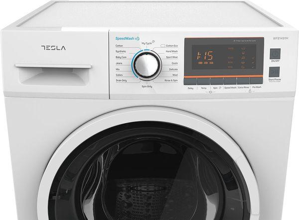 Masina de spalat rufe Tesla WF81491M, 8 kg, 1400 RPM, Clasa A+++, Alb 4
