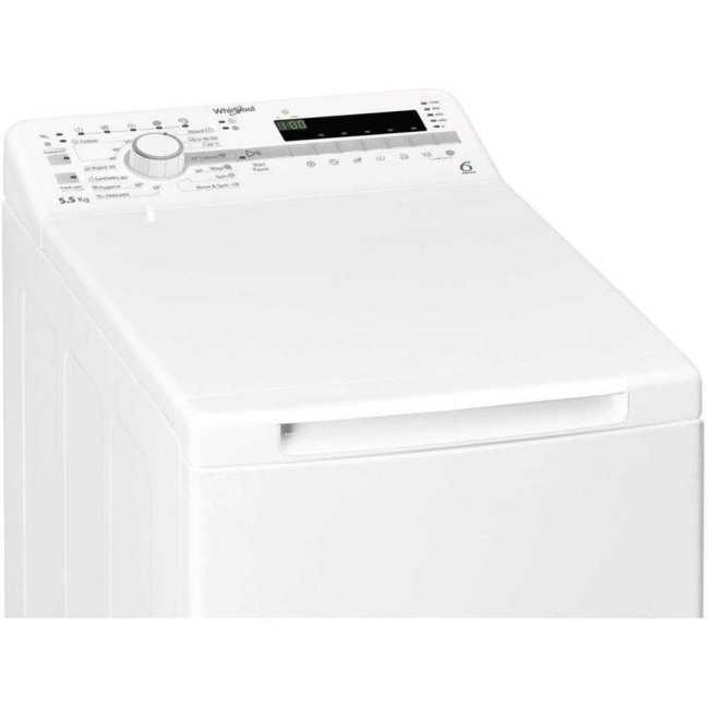 Masina de spalat rufe Whirlpool TDLR 55020S EU/N, 1000 RPM, 5.5 kg, Clasa E, (clasificare energetica veche Clasa A++) [1]