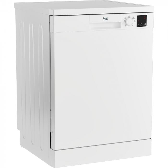 Masina de spalat vase Beko DVN06430W, 14 seturi, 6 programe, Clasa D, Automatic Door Opening, AutoGlassShield, 60 cm, Alb [1]