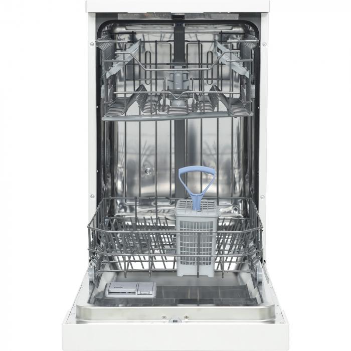 Masina de spalat vase Heinner HDW-FS4505WA++, 10 seturi, 5 programe, Clasa A++, Control electronic, 45 cm, Alb 3