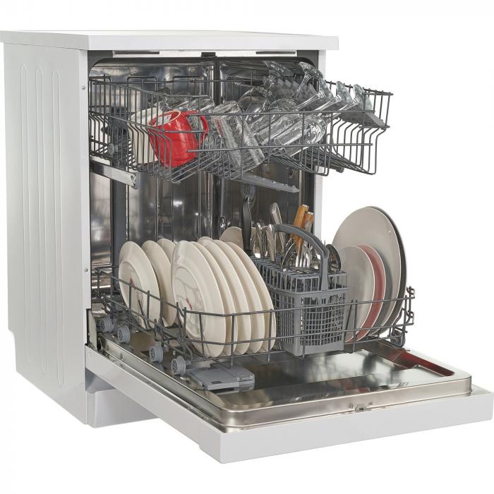 Masina de spalat vase Heinner HDW-FS6006WA++, 12 seturi, 6 programe, Clasa A++, Control electronic, 60 cm, Alb 3