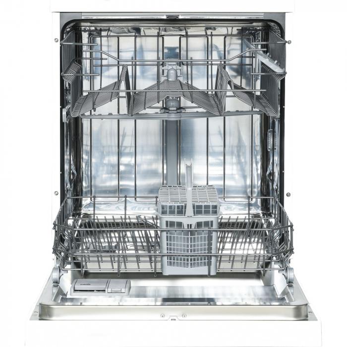 Masina de spalat vase Heinner HDW-FS6006WA++, 12 seturi, 6 programe, Clasa A++, Control electronic, 60 cm, Alb 4