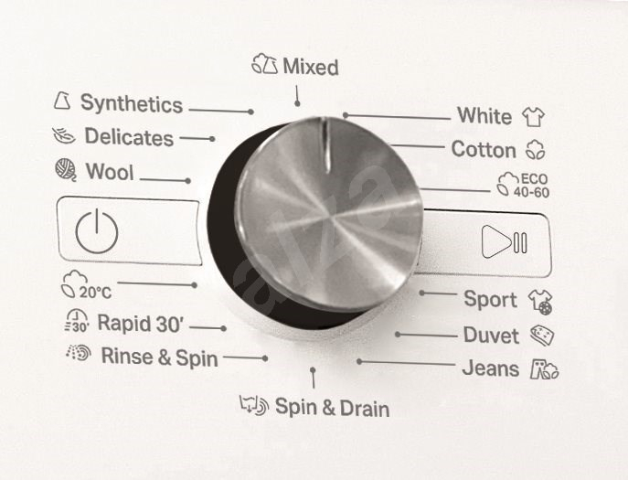 Masina de spalat rufe, Whirlpool FFS 7238 B EE, 7 kg, 1200 RPM, Clasa A+++, Alb 3