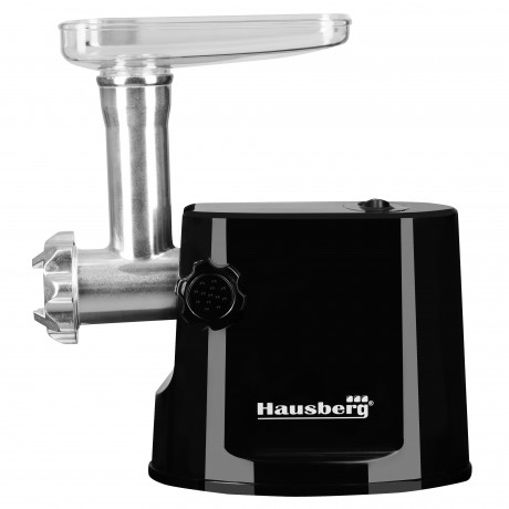 Masina de tocat electrica Hausberg , HB 3415 ,1000 W + Accesoriu carnati , Negru 0