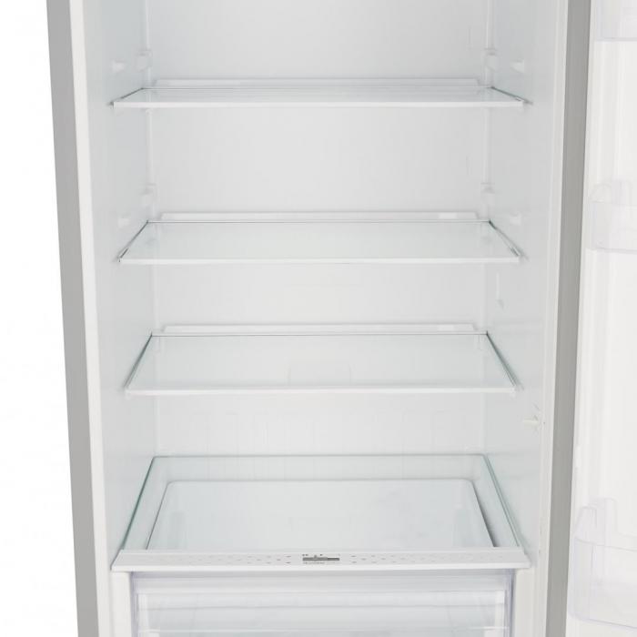 Combina frigorifica Heinner HC-V336XE++, 336 l, Clasa E, Tehnologie less frost, Iluminare LED, Control mecanic, Termostat ajustabil, H 186 cm, Argintiu [2]