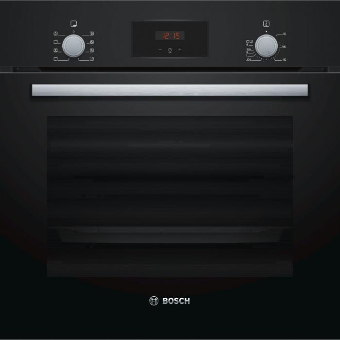 Cuptor incorporabil Bosch HBF153EB0, Electric, Autocuratare EcoClean Direct, 66 l, Clasa A, Negru 0