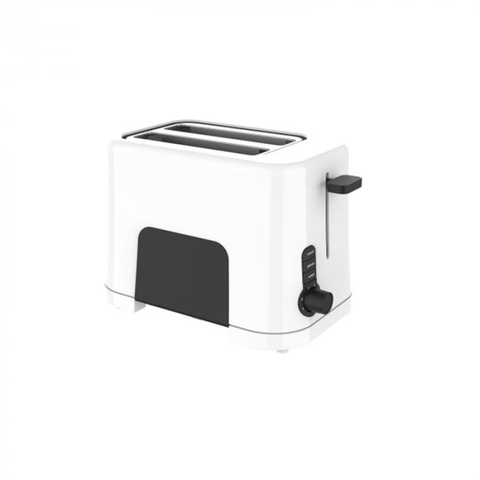 Prajitor de paine Studio Casa WB1T Neology, 850 W, 2 Felii, Functie decongelare, incalzire si anulare, Alb/ Negru 0