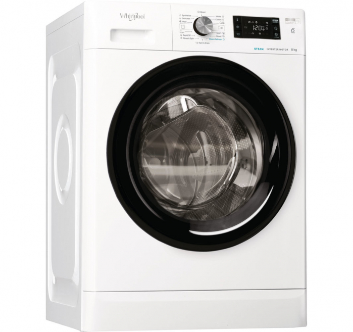 Masina de spalat Whirlpool FFB 8248 BV EE, clasa energetica A +++, Capacitate 8 kg, 1200 rpm, Alb 0