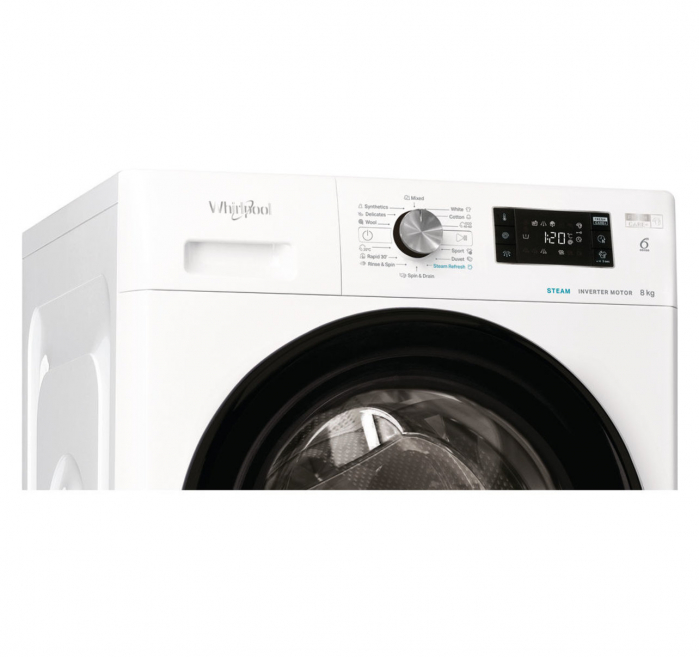 Masina de spalat Whirlpool FFB 8248 BV EE, clasa energetica A +++, Capacitate 8 kg, 1200 rpm, Alb [1]
