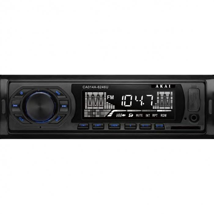 Radio auto Akai CA014A-6246U, USB, AUX 0