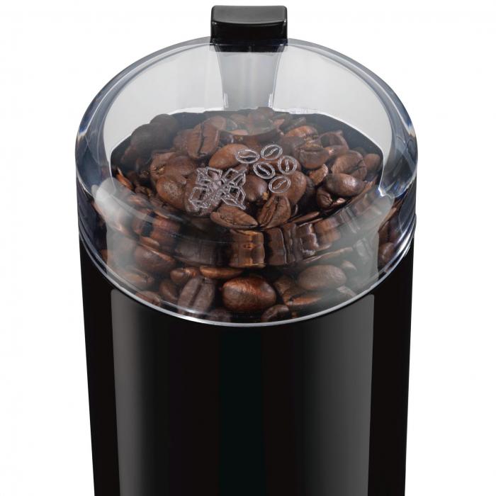Rasnita de cafea Bosch TSM6A013B, 180 W, 75 g, cutit otel inoxidabil, Negru [0]