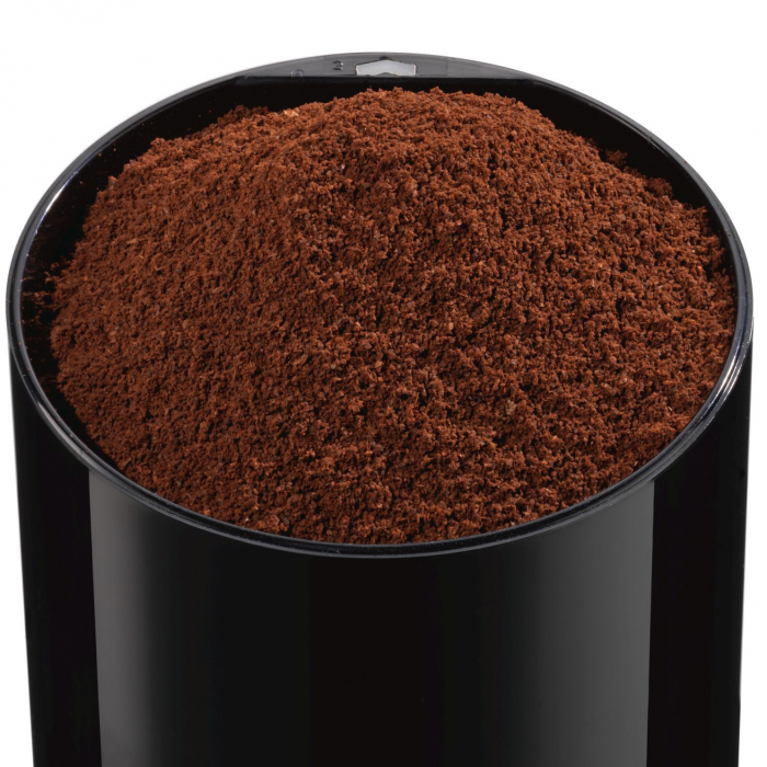 Rasnita de cafea Bosch TSM6A013B, 180 W, 75 g, cutit otel inoxidabil, Negru 3