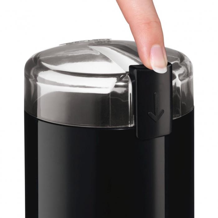 Rasnita de cafea Bosch TSM6A013B, 180 W, 75 g, cutit otel inoxidabil, Negru [1]