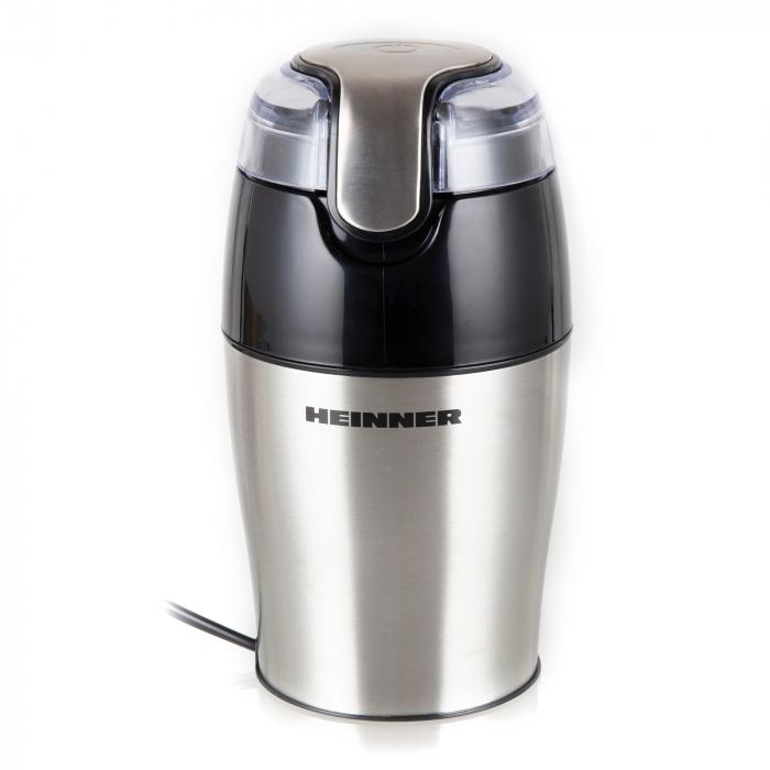 Rasnita de cafea Heinner HCG-150SS, 150 W, 50 g, Inox [1]