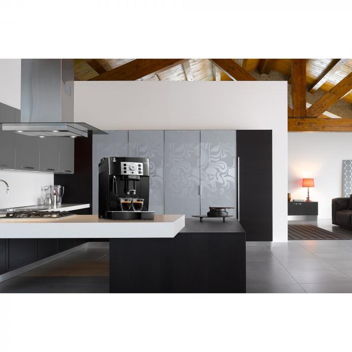 Espressor automat De'Longhi Magnifica S ECAM 22.110B, 1450W, 15 bar, 1.8 l, Negru 2