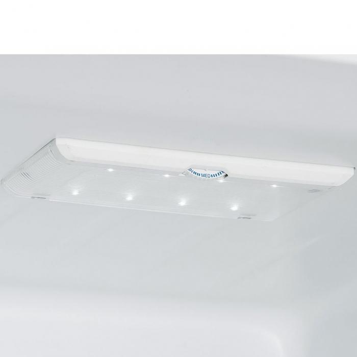Combina frigorifica HEINNER HC-M305DGA++, 305L , LED, Clasa A++, 188cm , Antracit 6