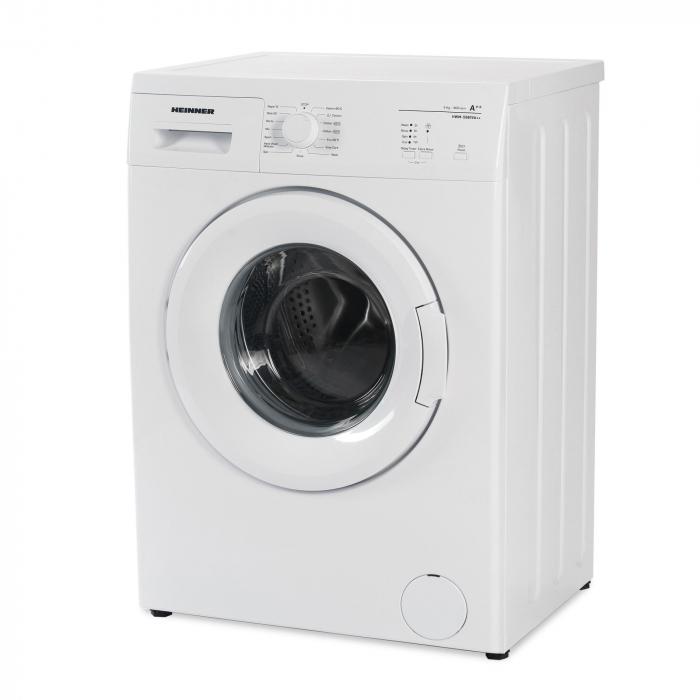 Masina de spalat rufe Heinner HWM-5080VA++, 5kg, 800 RPM, Clasa A++, Functie start intarziat, Sistem Eco Logic, 60 cm, Alb 1